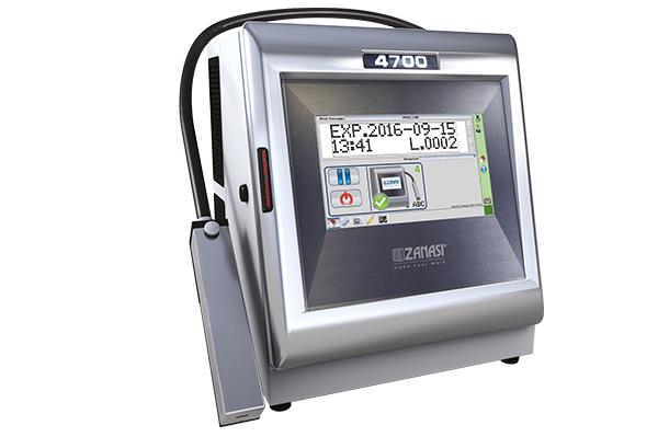 Zanasi Inkjet Kodlama Sistemleri, Kodlama Makinaları