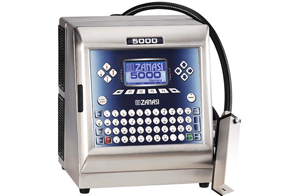 Zanasi Inkjet Kodlama Makinası Sistemleri