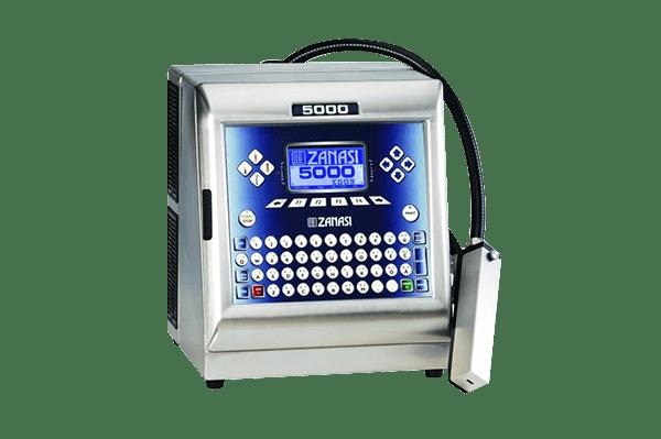 Inkjet Kodlama Sistemleri, Zanasi Z 5000eggs(CIJ) Inkjet Kodlama Makinası